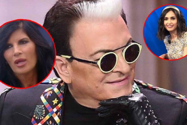 Cristiano Malgioglio contro Pamela Prati: ma difende Caterina Balivo, ecco perché