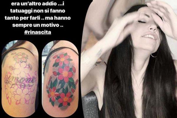 """Eliana Michelazzo copre il tatuaggio dedicato a Simone Coppi: """"Altro addio, ho pianto tanto!"""""""
