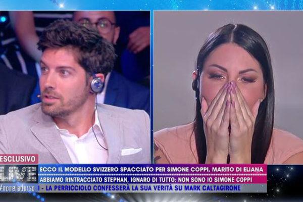 """Eliana Michelazzo """"incontra"""" Simone Coppi: l'ultimo messaggio di addio – VIDEO"""