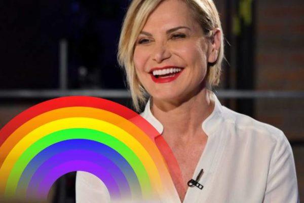 """Simona Ventura: """"Amo il Pride! E se mio figlio fosse gay? Nessun problema"""""""