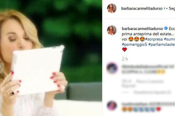 Barbara d'Urso, video promo Pomeriggio 5: ma è solo un'anteprima dell'estate!