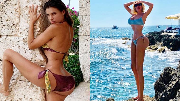 Alessia Marcuzzi e Elisabetta Canalis rispondono a chi le accusa di usare troppo Photoshop