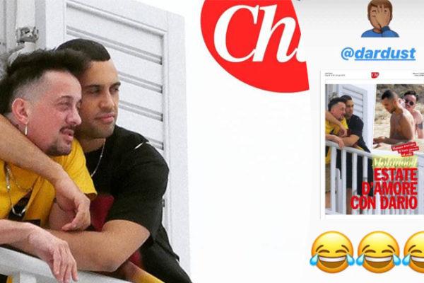 """Mahmood sta con Dario Faini? Il cantante replica allo scoop di """"Chi"""""""