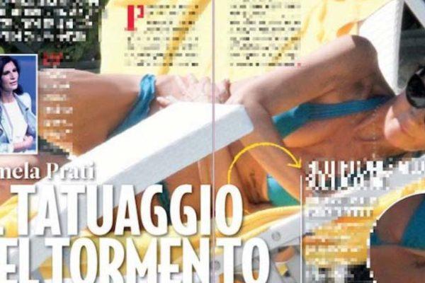 Pamela Prati come Eliana Michelazzo: via il tatuaggio per Mark Caltagirone?
