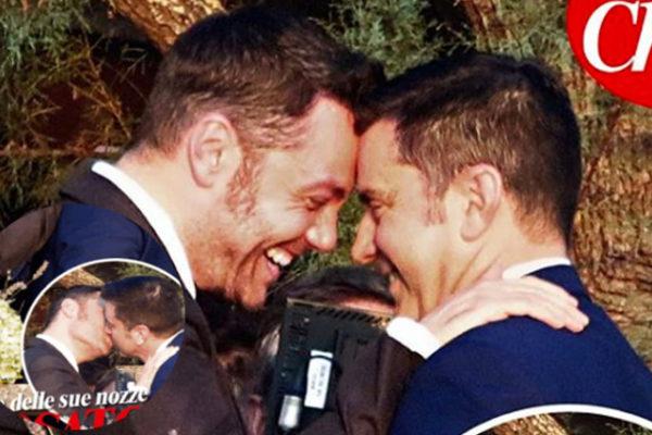 Tiziano Ferro e Victor Allen, bacio che suggella l'amore: matrimonio romantico e discreto
