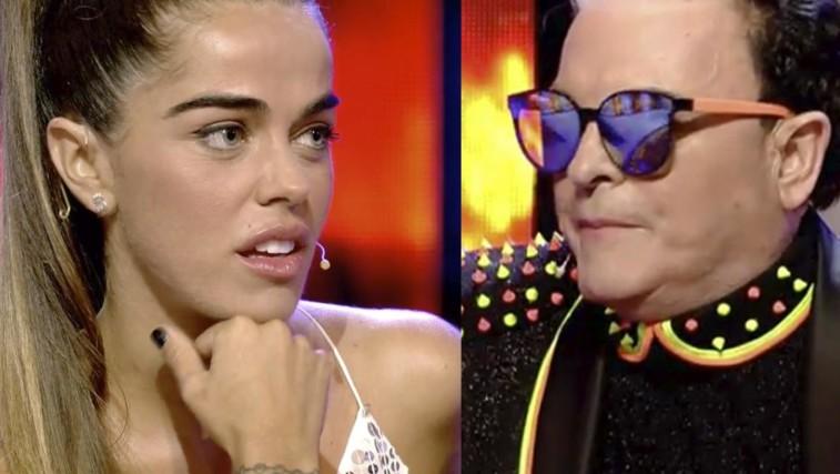 Cristiano Malgioglio, lo scontro con Violeta