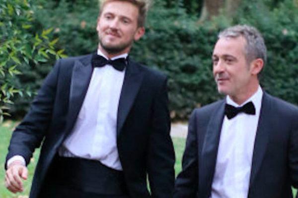 """Pierluigi Diaco e il compagno Alessio Orsingher: """"Vorremmo adottare un figlio!"""""""