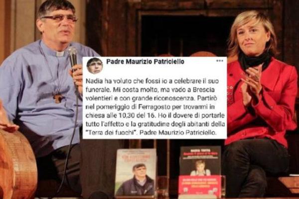 Funerali Nadia Toffa: il 16 agosto a Brescia celebrati da Padre Maurizio Patriciello