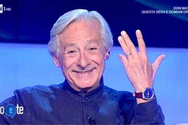 Leo Gullotta ha sposato il compagno: dopo 40 anni insieme, mostra la fede a Pierluigi Diaco