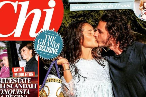 Marica Pellegrinelli e Charley Vezza, foto del bacio conferma: l'ex di Eros Ramazzotti volta pagina