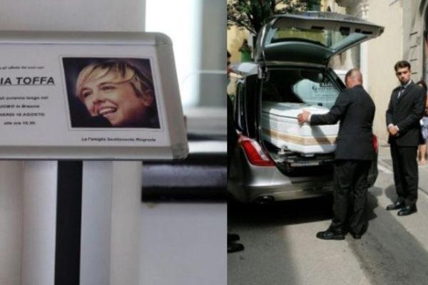 Funerali Nadia Toffa, il dolore de Le Iene: cravatta simbolo e commovente omelia