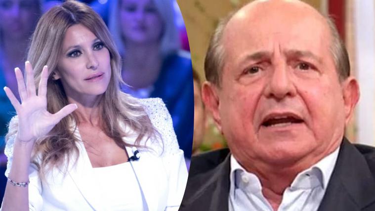 Giancarlo Magalli risponde ad Adriana Volpe