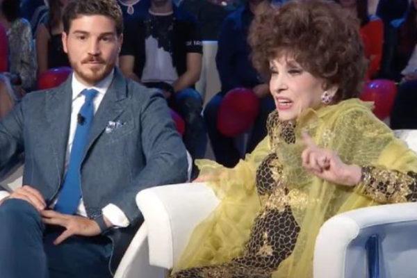"""Gina Lollobrigida a Domenica In: """"Con i miei soldi faccio quello che voglio!"""", e sul figlio…"""