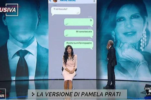"""Massimo Giletti durissimo con Barbara d'Urso, Pamela Prati ospite: """"Inaccettabile!"""" (VIDEO)"""
