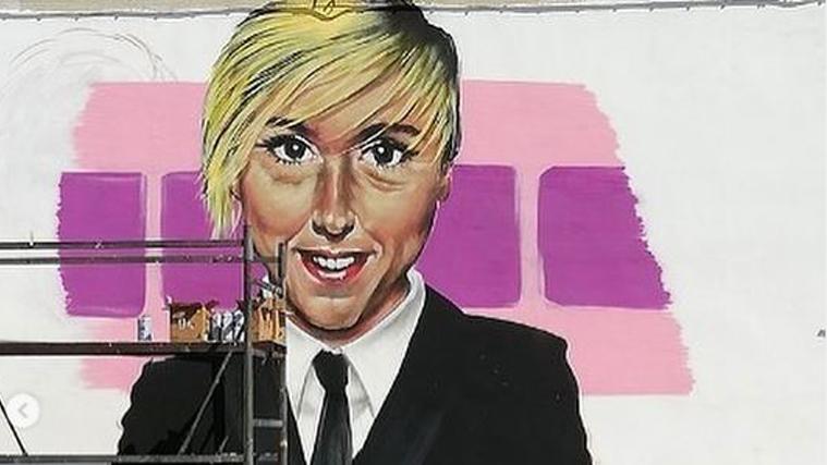 Nadia Toffa, a Taranto il murales che commuove: Le Iene ringraziano
