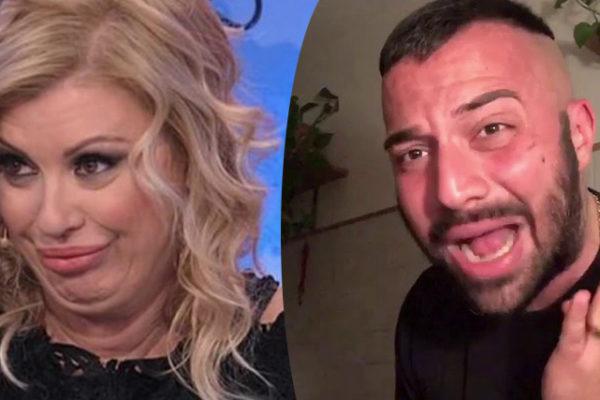 Tina Cipollari contro Er Faina: furia durante la registrazione di Uomini e Donne, ecco perchè